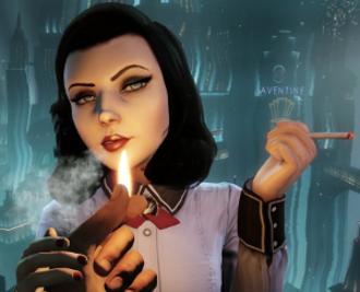 BioShock Infinite: Burial at Sea - Image: Elizabeth in Burial at Sea