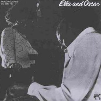 Ella and Oscar - Image: Ella and Oscar (Ella Fitzgerald album cover art)