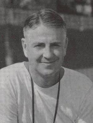 Elmer Burnham - Burnham pictured in Debris 1943, Purdue yearbook