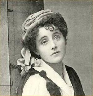 Eva Moore - In Little Christopher Columbus, 1894