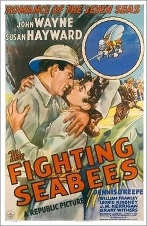 The Fighting Seabees - theatrical poster