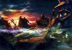 Spira (Final Fantasy) - Zanarkand Ruins in Spira