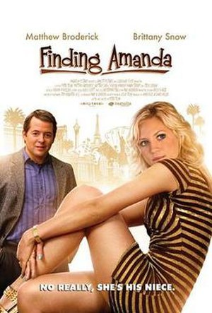 Finding Amanda - Theatrical release poster