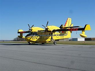 Canadair CL-415 - Ontario MNR 415 at Johnstown, PA (KJST)