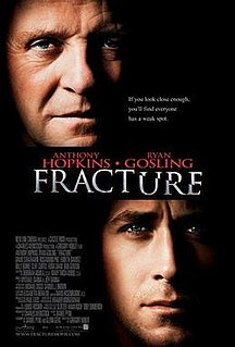 <i>Fracture</i> (2007 film) 2007 crime film directed by Gregory Hoblit