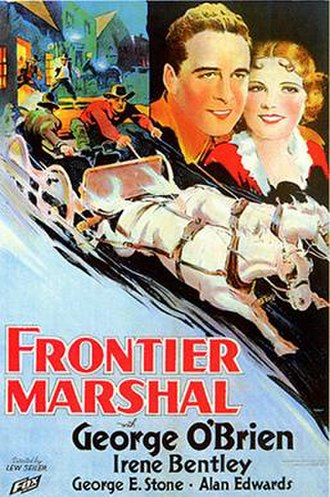 Frontier Marshal (1934 film) - Image: Frontier Marshal 1934 film poster