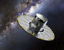 3D image of Gaia spacraft