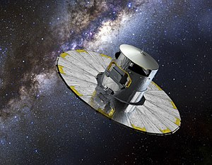 Gaia (spacecraft) - Artist's impression of the Gaia spacecraft