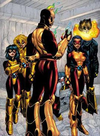 Generation X (comics) - Image: Generation X67
