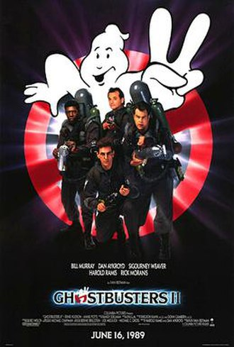 Ghostbusters II - Theatrical release poster