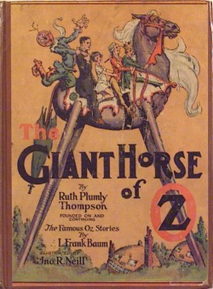 The Giant Horse of Oz - Cover of The Giant Horse of Oz.
