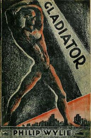 Gladiator (novel) - Dust jacket of the first edition