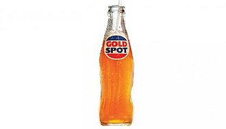 Gold Spot - Gold Spot glass bottle