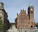 Guildhall, Derry, August 2010.JPG
