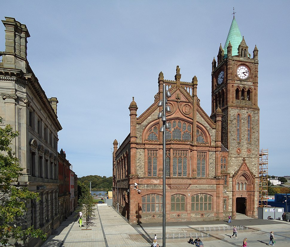 Guildhall, Derry, August 2010