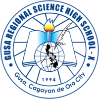 Gusa Regional Science High School - X Official Logo.png