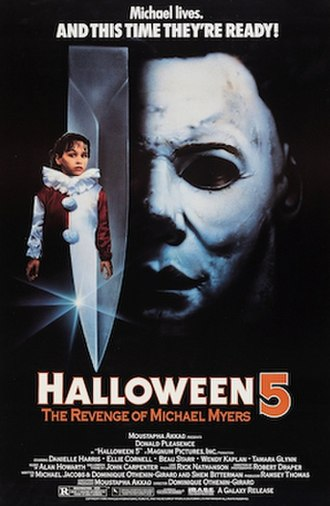 Halloween 5: The Revenge of Michael Myers - Theatrical release poster