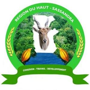 Haut-Sassandra - Image: Haut Sassandra Region (Ivory Coast) logo