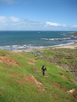 Heysen Trail - Image: Heysen Trail near Victor Harbour