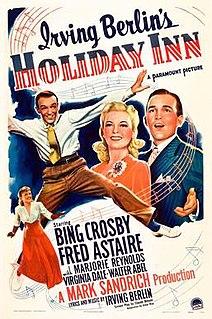 <i>Holiday Inn</i> (film) 1942 film by Mark Sandrich