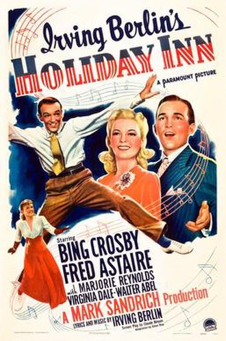 Holiday Inn (film) - Image: Holiday Inn poster