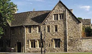 St Cross Road - Image: Holywell manor
