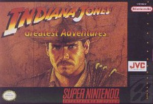 Indiana Jones' Greatest Adventures - SNES cover art
