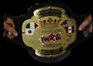 IWRG <i>Junior de Juniors</i> Championship Professional wrestling championship by International Wrestling Revolution Group