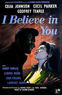 <i>I Believe in You</i> (film) 1952 film