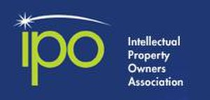 Intellectual Property Owners Association - Image: Ipo org logo