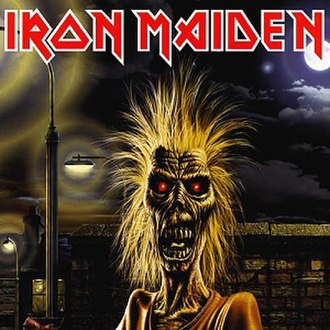 Iron Maiden (album) - Image: Iron Maiden Iron Maiden