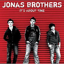 It's About Time (Jonas Brothers album - cover art).jpg