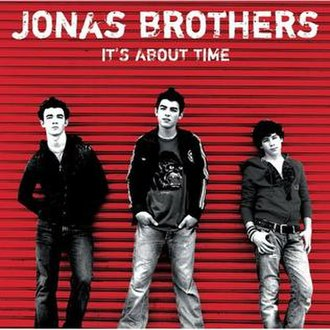 It's About Time (Jonas Brothers album) - Image: It's About Time (Jonas Brothers album cover art)