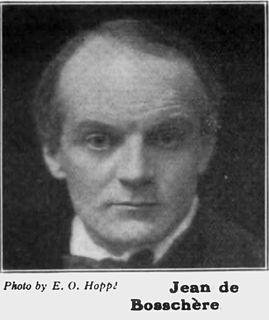 Jean de Bosschère painter, writer