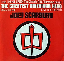 Theme From The Greatest American Hero Believe It Or Not Wikipedia