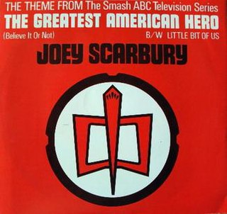 Theme from <i>The Greatest American Hero</i> (Believe It or Not) 1981 single by Joey Scarbury