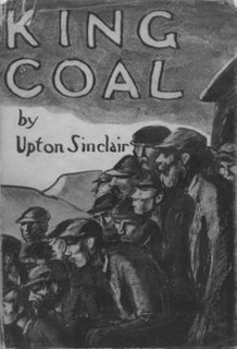 <i>King Coal</i> novel by Upton Sinclair