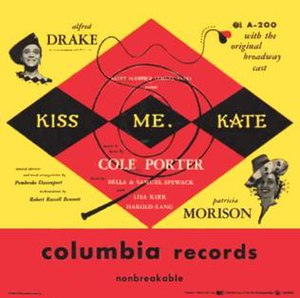 Kiss Me, Kate - Image: Kiss Me Kate 1950 LP Cover