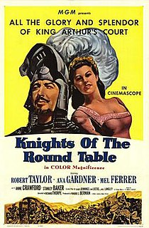 <i>Knights of the Round Table</i> (film) 1953 film by Richard Thorpe