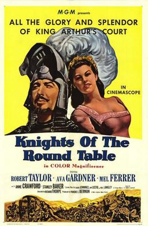 Knights of the Round Table (film) - Theatrical release poster