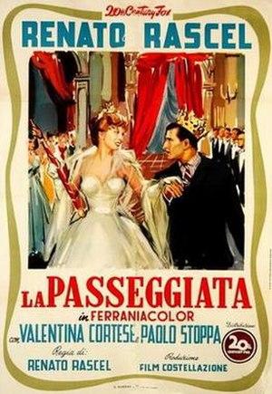The Walk (1953 film) - Image: La passeggiata poster