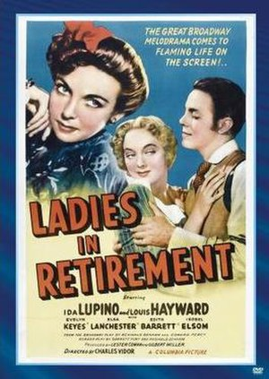 Ladies in Retirement - Theatrical release poster