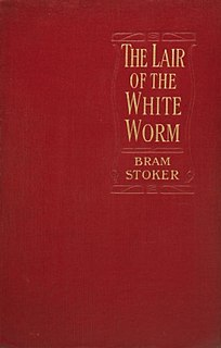 <i>The Lair of the White Worm</i> novel written by Bram Stoker