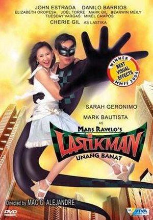 Lastikman: Unang Banat - Lastikman: Unang Banat DVD Cover