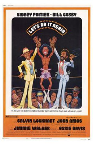 Let's Do It Again (1975 film) - Theatrical release poster by Jack Rickard