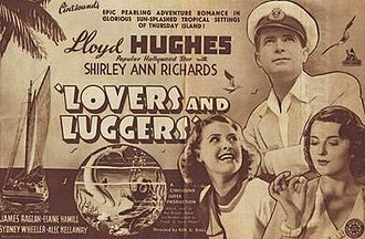 Lovers and Luggers - Flyer for theatrical release