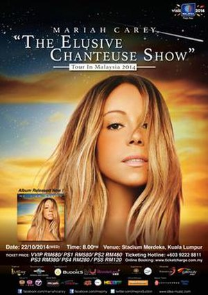 The Elusive Chanteuse Show - Image: Mariah Carey The Elusive Chanteuse Show
