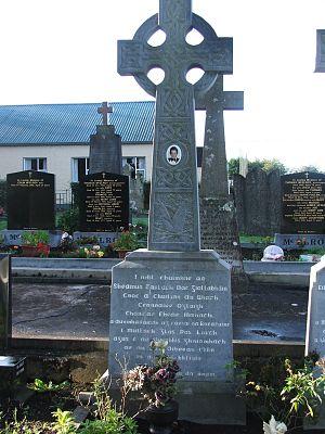 Séamus McElwaine - Gravestone of Séamus McElwaine