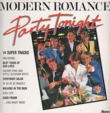 Modern Romance Party Tonight Album.jpg