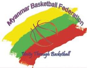 Myanmar national basketball team - Image: Myanmar B Ball Federation